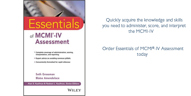 Essentials of MCMI-IV